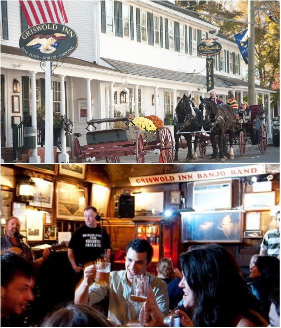 Гостиница с рестораном Griswold Inn в Эссексе была основана в 1776 г. (Коннектикут, США).   Фото: foodandmood.com.ua.