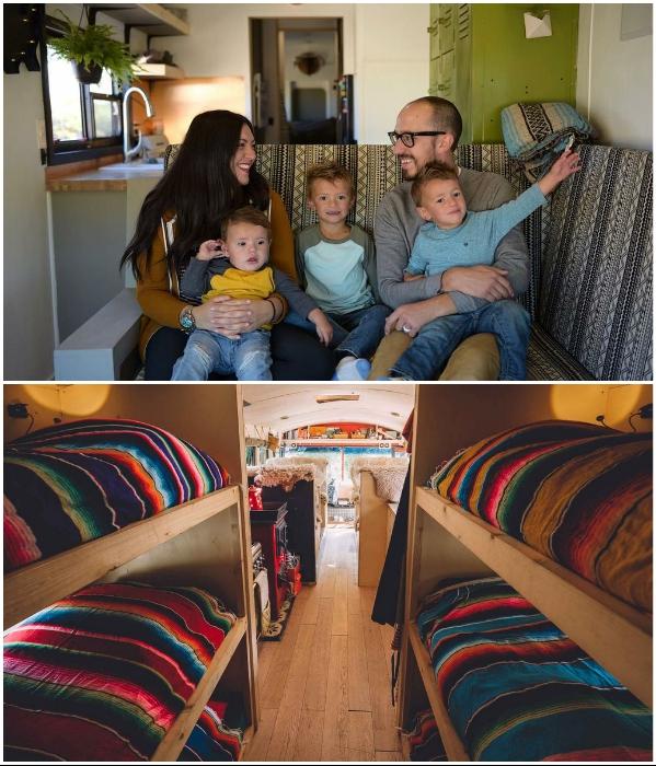 Вряд ли долго радоваться будут дети и родители, постоянно проживая в таких условиях. | Фото: mothersblog.gr/ mangiaviviviaggia.com.