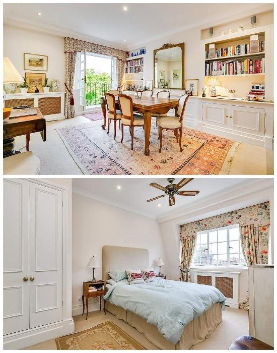 Интерьер бывшей квартиры Кейт Миддлтон в Лондоне.
