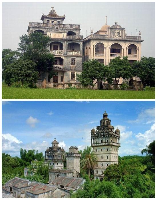 В XX веке крепости дяолоу имели более утонченный вид (Гуандун, Китай). | Фото: arttravelblog.ru.
