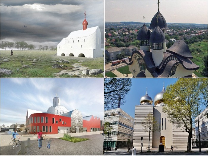 Современное видение архитектуры православных храмов.