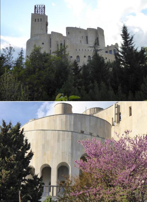 Теперь уже бывший Дворец бракосочетания превратился в жилую резиденцию «Дворец Аркадия» (Тбилиси, Грузия). | Фото: wikimapia.org.
