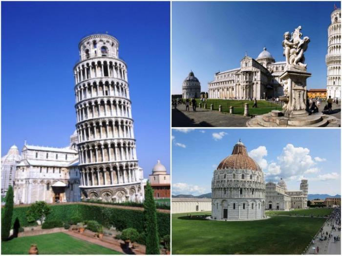 Пизанская башня является одной из самых известных и популярных достопримечательностей Италии.