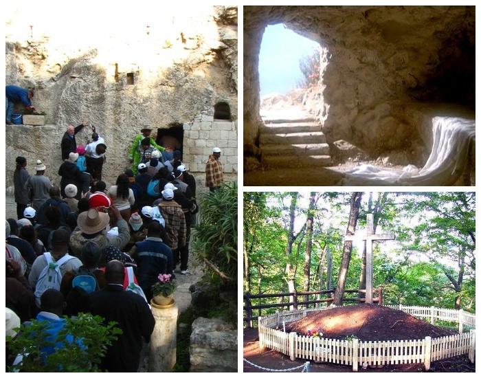 Несколько мест захоронения Иисуса Христа (Иерусалим, Япония).