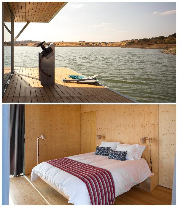 Модульный дом Floating House создан из экологически чистых материалов с применением энергосберегающих технологий (Португалия). | Фото: Jose Campos Architectural Photographer.