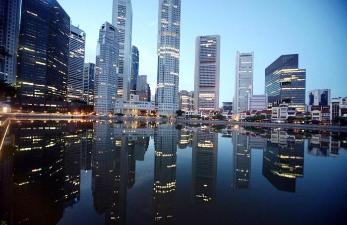 Сингапур спустя всего лишь сто лет.