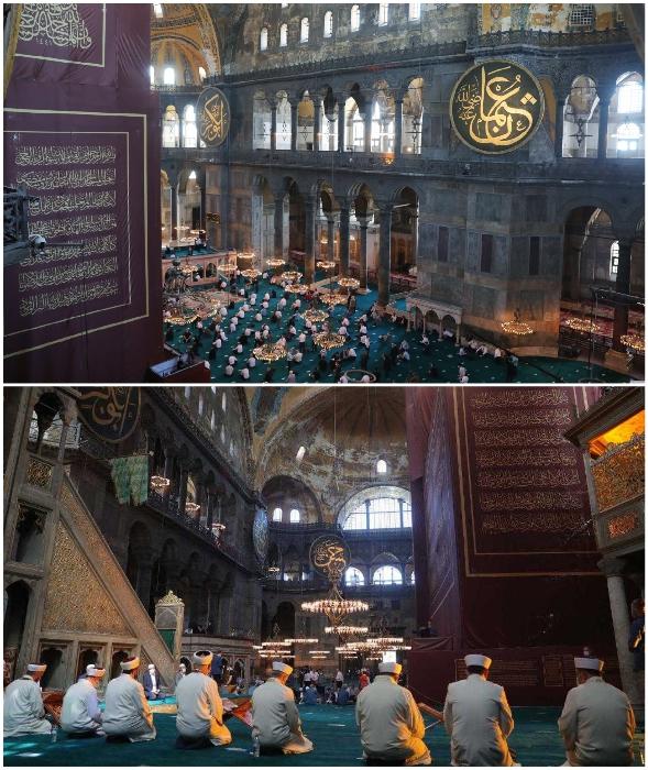 Христианская святыня снова стала местом поклонения мусульман (Софийский собор, Турция).