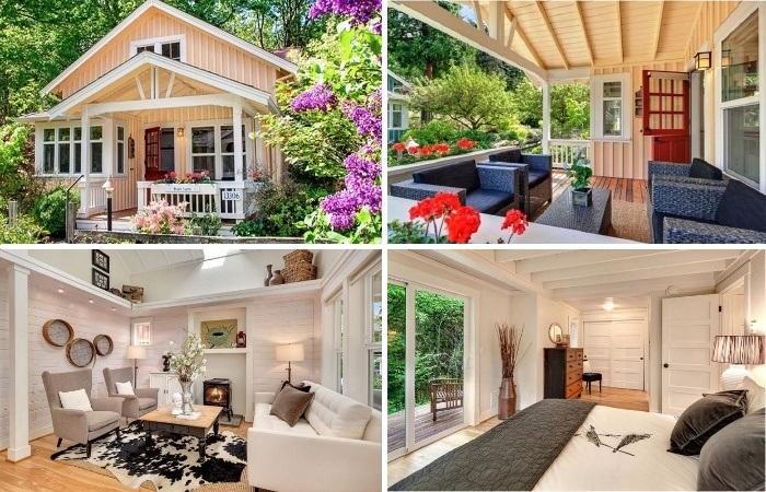 Проект идеального крошечного коттеджа Kvale Hytte разработала строительная компания The Cottage Company. | Фото: pinterest.com.