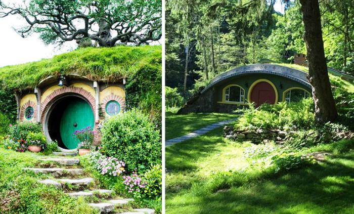 Нора Бильбо вдохновила Джима Костигана на создание уникального загородного дома.