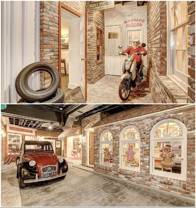 Несколько раритетных автомобилей и мотоцикл припаркованы к бордюрам мостовой подвального города (Round Hill, Мэриленд). | Фото: wideopencountry.com.