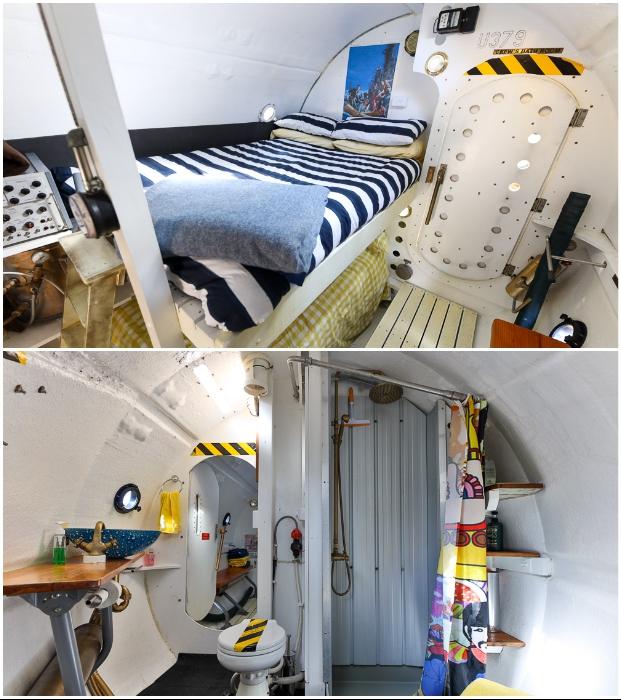 В крошечной «Желтой субмарине» имеется все необходимое для комфортного отдыха (Новая Зеландия).