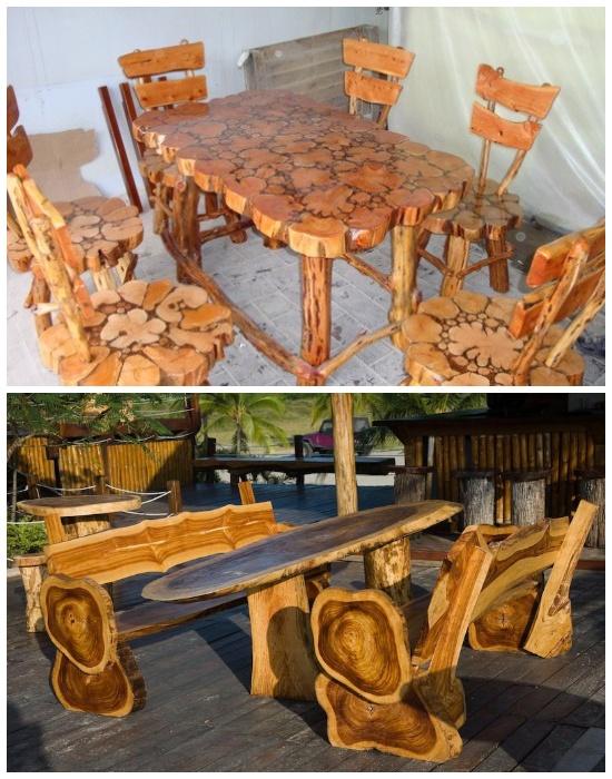 Особо мастеровые люди создают настоящие шедевры из древесины. | Фото: berkem.ru.
