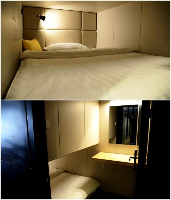 В отеле есть одноместные капсулы улучшенной планировки («Liuyue Capsule Hotel», Китай). | Фото: liuyue-capsule.tianjintophotels.com.