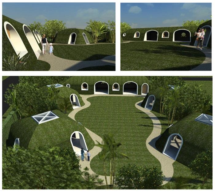 Сказочные дома, созданные благодаря современным технологиям.
