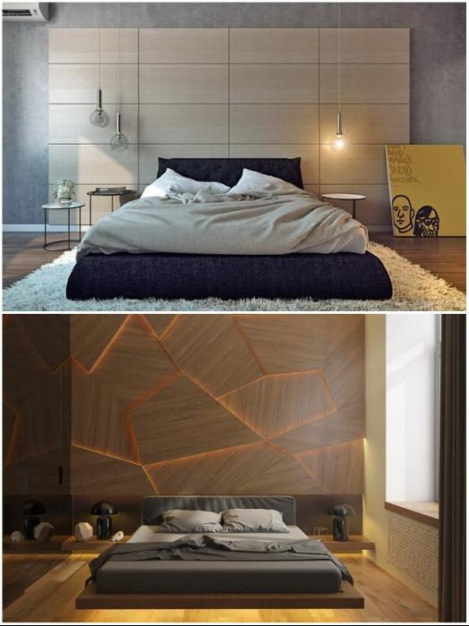 Огромное разнообразие стеновых панелей из дерева поспособствует созданию особенного интерьера. | Фото: mystroyinfo.ru/ interiormix.ru.