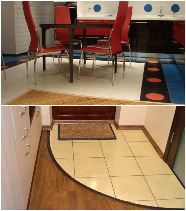 Подобное комбинирование испортит интерьер квартиры. | Фото: pol-exp.com/ lemurov.net.