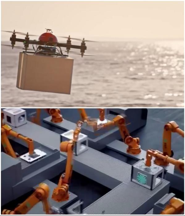 Все процессы производства и обслуживания будут роботизированы (NEOM). | Фото: youtube.com/ © KJ Reports.