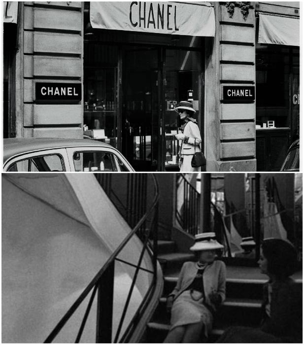 Бутик CHANEL и его знаменитая лестница по адресу 31 Rue Cambon (Париж, Франция). | Фото: vintage-dream-s.livejournal.com/ twilightrussia.ru.