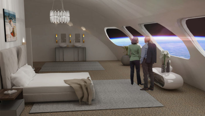 Некоторые модули могут быть проданы под частные апартаменты (концепт отеля Von Braun Space Station). | Фото: chance4traveller.com.