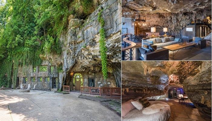 Потрясающее преобразование пещеры в апартаменты.