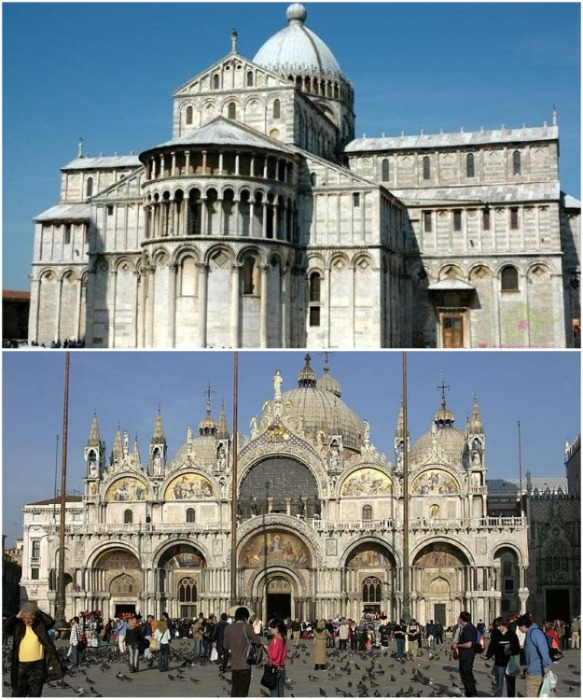 Начиная с VI ст., в Византии начал формироваться уникальный стиль храмовых сооружений. | Фото: novaiagazeta.org.ru.