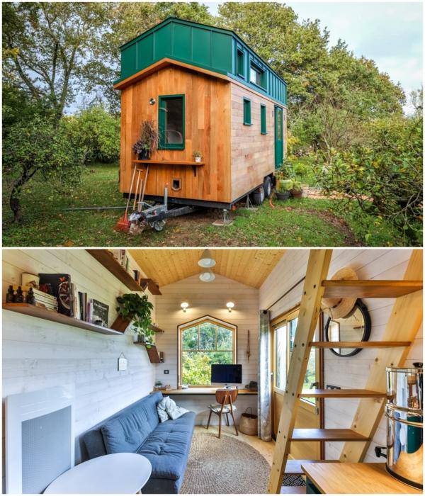 В отделке внешних и внутренних площадей преобладают натуральные и экологически чистые материалы. | Фото: googleusercontent.com/ boredpanda.com.