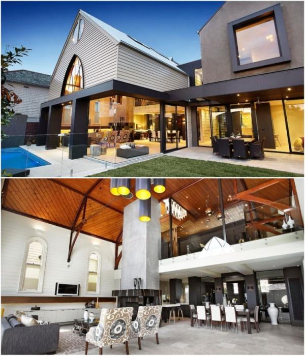 Обновили не только интерьер, но и пристроили еще одно крыло к существующему зданию (Мельбурн, Австралия). | Фото: mymodernmet.com.