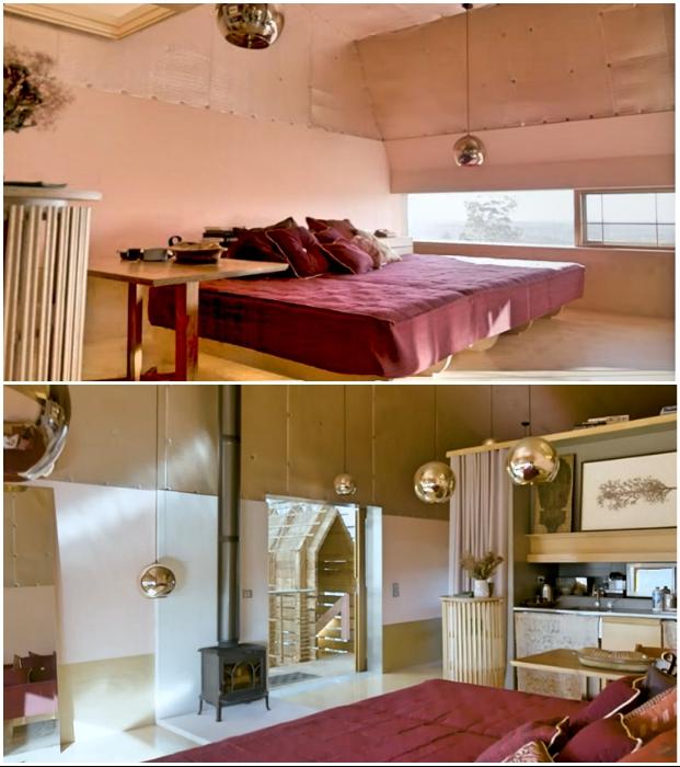 На втором уровне располагаются гостевые апартаменты мини-отеля («Longhouse», Австралия).