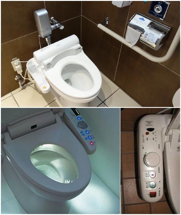 В Японии даже унитазы оснащены «умными» системами.