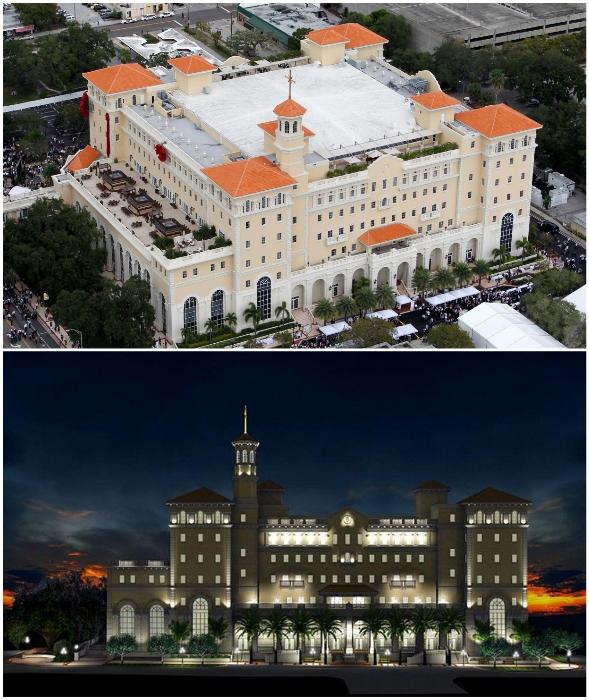 На этот недострой уже потрачено 145 млн дол., но это еще не предел (Super Power Building, Флорида).