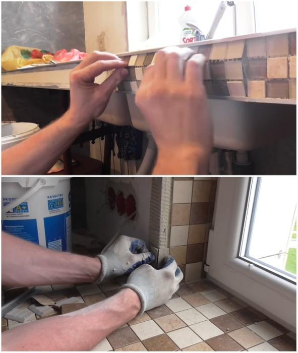 Отделочные работы требуют скрупулезности и аккуратности. | Фото: youtube.com.