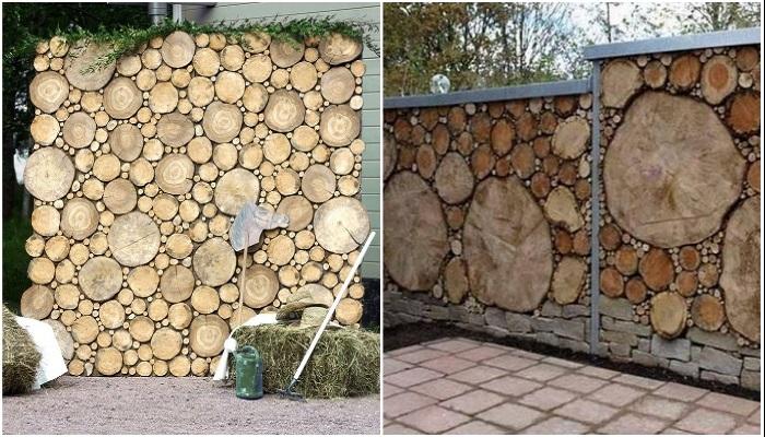 При создании заборов и различных перегородок, древесину следует обрабатывать специальными сохраняющими растворами. | Фото: deterra.ru/ cpykami.ru.