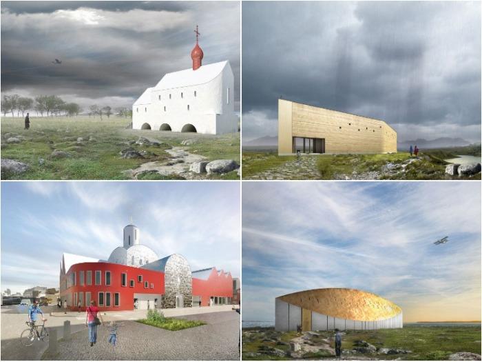 Самые необычные проекты культовых сооружений современных архитекторов. | Фото: simeonn.livejournal.com.