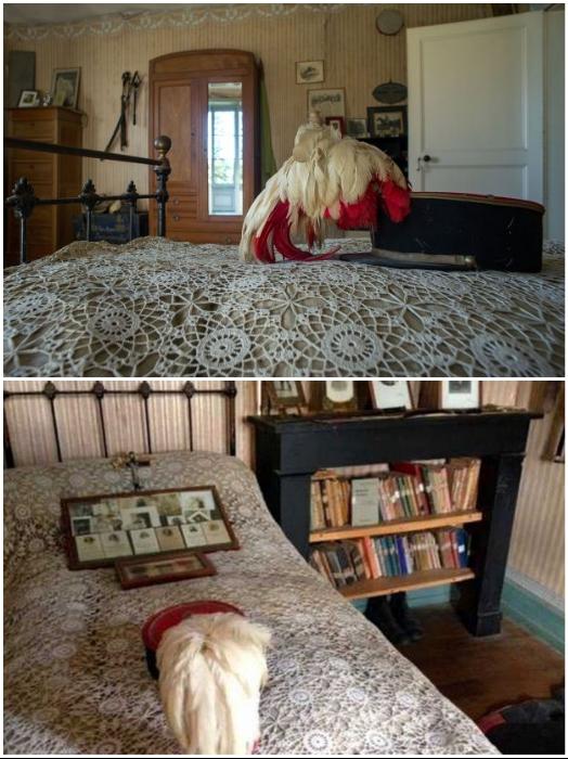 При взгляде на белоснежное кружевное покрывало сложно представить, что на этой кровати более 100 лет никто не спал (Белабр, Франция). | Фото: elcomercio.pe/ twizz.ru.