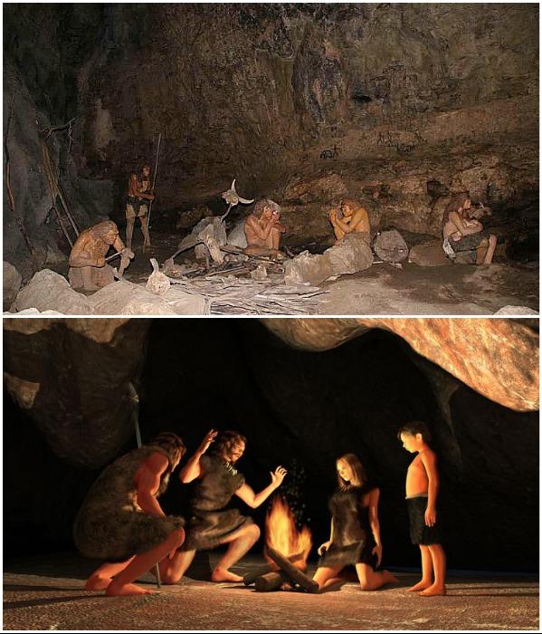 Первобытные люди нашли универсальный способ обзавестись надежным домом – поселиться в пещере. | Фото: vecherniy.kharkov.ua/ russia-open.com.