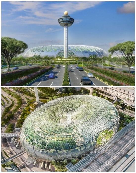 17 апреля 2019 пройдет церемония открытия многофункционального комплекса «Jewel Changi Airport» (Сингапур).   Фото: taratutenko.ru.