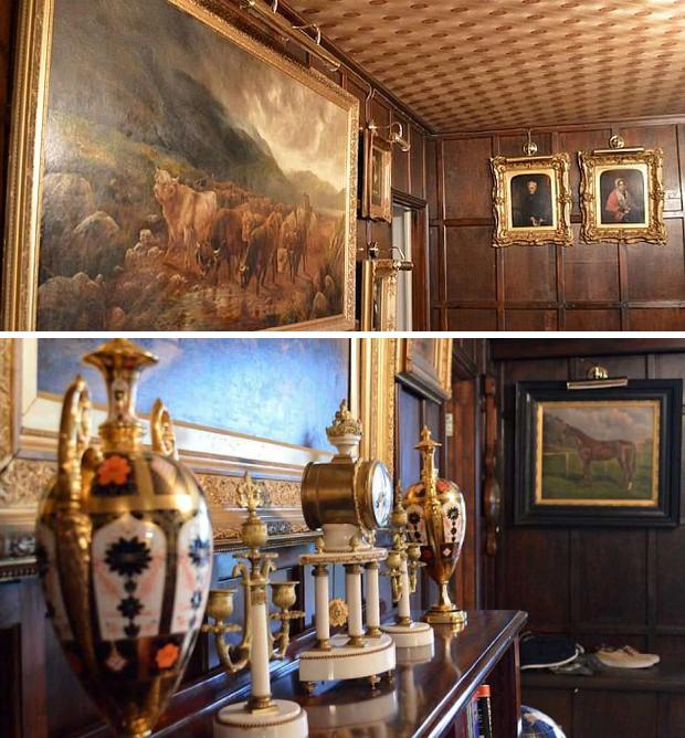 Антиквариат, произведения искусства и редкие шедевры можно увидеть в тайной комнате. | Фото: yaplakal.com/ casavogue.globo.com.