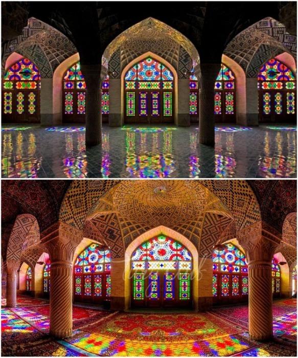 Nasir al-Mulk, Иран. | Фото: iranasia.com.