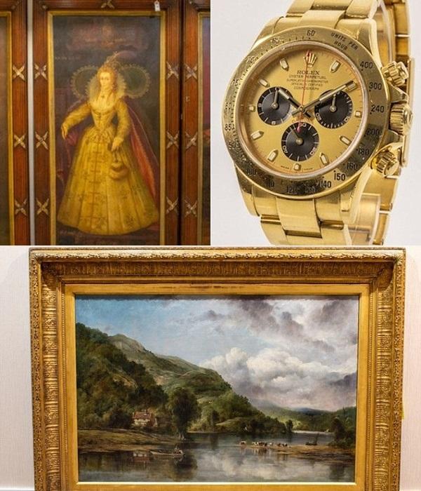 Только одни часы на аукционе после конфискации были проданы более чем за 30 тыс. дол. | Фото: dailymail.co.uk.