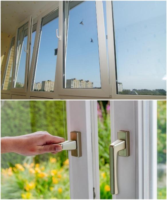 Нужно продумать, как будут открываться окна, на какой высоте расположить ручки. | Фото: oknanagoda.com.