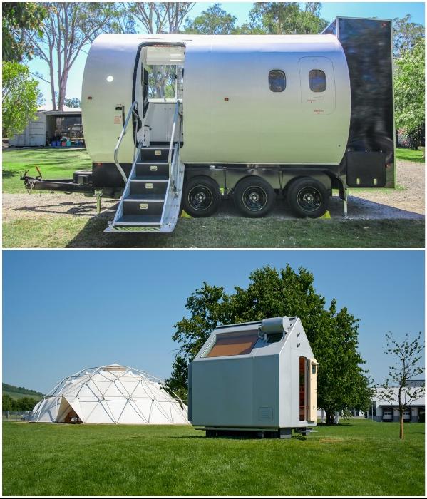 Даже ультрасовременные крошечные дома не могут долго автономно существовать.| Фото: building-tech.org/ designerdreamhomes.ru.