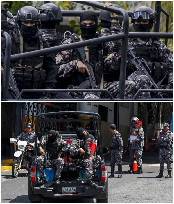 Служащих некоторых подразделений SEBIN обвиняют в злостном нарушении прав человека («El Helicoide», Каракас). | Фото: bigpicture.ru/ bbc.com, russian.