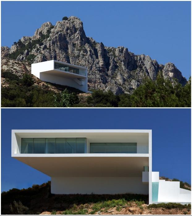Cliff House в Кальпе – идеальное место для уединенного отдыха в окружении восхитительной природы (Испания).