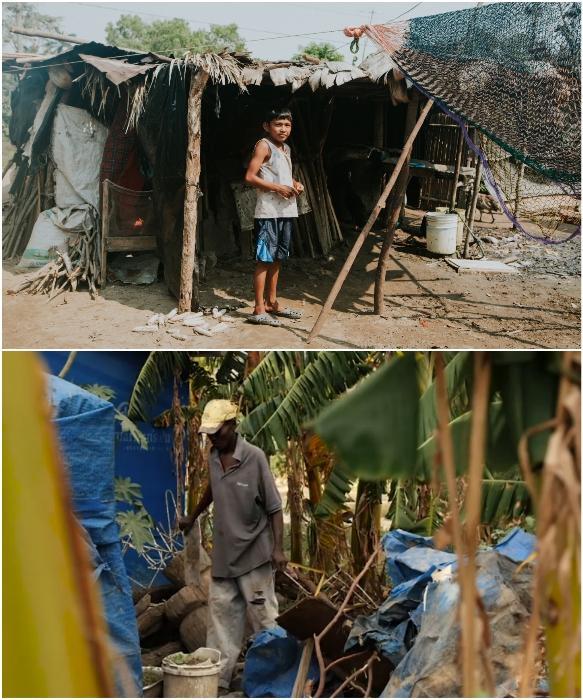 В рамках программы борьбы с бедностью было выбрано 50 семей. | Фото: newstorycharity. org/ newatlas.com.
