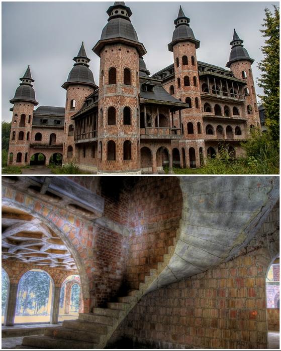 Лапалицкий замок – не завершившееся архитектурное чудо (Польша).