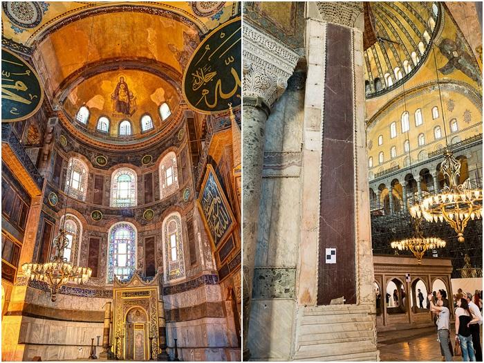 До наших дней сохранились христианские мозаики, созданные византийскими мастерами (Hagia Sophia, Стамбул).