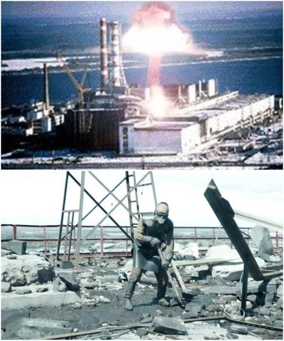 26 апреля 1986 г. на 4-м энергоблоке Чернобыльской АЭС произошел мощнейший взрыв (Припять, Украина). | Фото: fakty.com.ua.