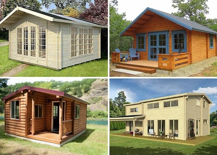 На интернет-платформе Amazon представлены домики разной ценовой категории и комплектации. | Фото: amazon.com.
