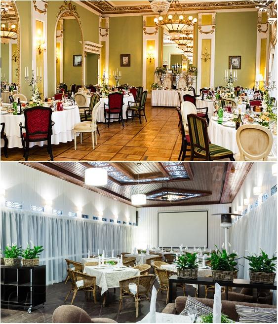 В ресторане есть несколько банкетных залов, летняя веранда и внутренний дворик с фонтаном (ресторан Яръ, Москва).   Фото: banket.ru.