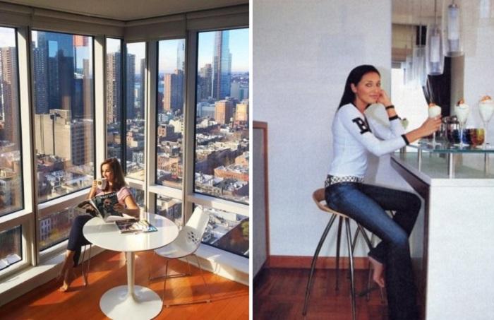Интерьер лондонской квартиры Алсу. | Фото: vk.com.
